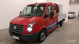 Front/Side  of Volkswagen Crafter Chassi Double Cab 2.5 TDI Manual, 109ps, 2009