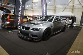 Fram/Sida av BMW M3 GT4  Drivelogic, 480ps, 2010 på Bilsport Performance & Custom Motor Show 2019
