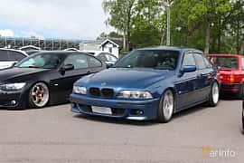 Front/Side  of BMW 530d Sedan  184ps, 1998 at Bimmers of Sweden @ Mantorp 2019