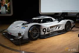 Front/Side  of Volkswagen I.D. R ? kWh AWD Single Speed, 693ps, 2018 at LA Motor Show 2018