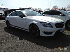 Front/Side  of Mercedes-Benz CLS 63 AMG S 4MATIC 5.5 V8 4MATIC , 585ps, 2013 at Ltava Time Attack 1st Stage