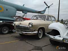 Front/Side  of GAZ GAZ M-21 Volga 2.4 Manual, 76ps, 1962 at Old Car Land no.2 2017