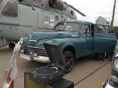 Front/Side  of GAZ GAZ-M-20 2.1 Manual, 50ps, 1948 at Old Car Land no.2 2017