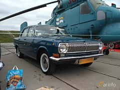 Front/Side  of GAZ GAZ-24 2.4 Manual, 95ps, 1975 at Old Car Land no.2 2017