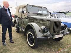 Front/Side  of GAZ 69 4-door 2.1 4x4 Manual, 55ps, 1951 at Old Car Land no.2 2019