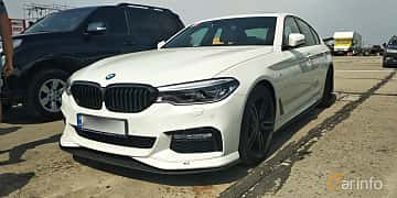 Front/Side  of AC Schnitzer 540i xDrive Sedan  Steptronic, 400ps, 2017 at Proudrs Drag racing Poltava 2019