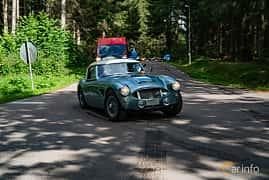 Front/Side  of Austin-Healey 3000 2.9 Manual, 126ps, 1960 at Svenskt sportvagnsmeeting 2019