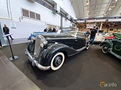 Front/Side  of Mercedes-Benz 170 S Cabriolet A  Manual, 52ps, 1950 at Techno Classica Essen 2019