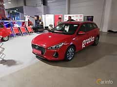 Front/Side  of Hyundai i30 Wagon 1.6 CRDi DCT, 110ps, 2018 at Warsawa Motorshow 2018