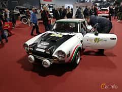 Front/Side of Fiat 124 Sport Spider 1.8 Manual, 128ps, 1973 at Warsawa Motorshow 2018