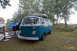 Front/Side  of Volkswagen Transporter Minibus 1979 at West Coast Bug Meet 2019