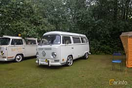 Front/Side  of Volkswagen Transporter 1600 Minibus 1.6 Manual, 50ps, 1971 at West Coast Bug Meet 2019