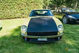 Front  of Datsun 240Z 2.4 Manual, 154ps, 1971 at Sportbilsklassiker Stockamöllan 2019