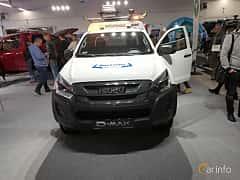 Front  of Isuzu D-Max Space Cab 1.9 4WD Manual, 163ps, 2018 at Warsawa Motorshow 2018