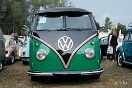 Front  of Volkswagen Transporter Minibus 1963 at West Coast Bug Meet 2019