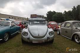 Front  of Volkswagen Type 1 1971 at West Coast Bug Meet 2019