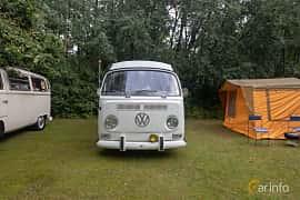 Front  of Volkswagen Transporter 1600 Minibus 1.6 Manual, 50ps, 1971 at West Coast Bug Meet 2019