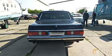 Back of GAZ 14 Chaika 5.5 V8 Automatic, 220ps, 1988 at Old Car Land no.1 2019