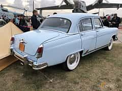Back/Side of GAZ M-21 Volga 2.4 Manual, 65ps, 1957 at Old Car Land no.2 2019
