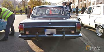 Back of GAZ GAZ-24 2.4 Manual, 95ps, 1974