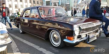 Front/Side of GAZ GAZ-24 2.4 Manual, 95ps, 1974