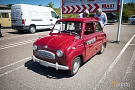 Front/Side  of Glas Goggomobil TS 250 0.25 Manual, 14ps, 1959 at Minimotormässa på ICA, Råå 2016