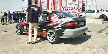 Back/Side of Honda Civic Sedan 1992 at Proudrs Drag racing Poltava 2019