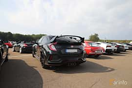 Back/Side of Honda Civic Type R 2.0 VTEC Manual, 320ps, 2018 at Autoropa Racing day Knutstorp 2019