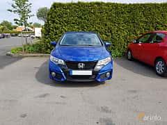 Front  of Honda Civic 1.8 i-VTEC Automatic, 142ps, 2015