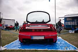 Back of Honda NSX 3.0 V6 Manual, 274ps, 1991 at Vallåkraträffen 2018
