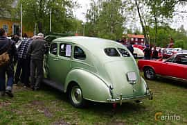 Back/Side of Hudson 112 Touring Sedan 2.9 Manual, 87ps, 1939 at Onsdagsträffar på Gammlia Umeå 2019 vecka 23