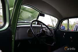 Interior of Hudson 112 Touring Sedan 2.9 Manual, 87ps, 1939 at Onsdagsträffar på Gammlia Umeå 2019 vecka 23