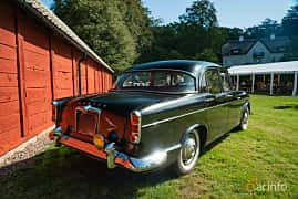 Back/Side of Humber Super Snipe 3.0 Manual, 125ps, 1960 at Sportbilsklassiker Stockamöllan 2019