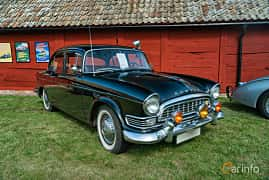 Front/Side  of Humber Super Snipe 3.0 Manual, 125ps, 1960 at Sportbilsklassiker Stockamöllan 2019