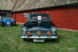 Front  of Humber Super Snipe 3.0 Manual, 125ps, 1960 at Sportbilsklassiker Stockamöllan 2019