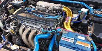 Engine compartment  of Hyundai Coupé 2.0 Manual, 143ps, 2010