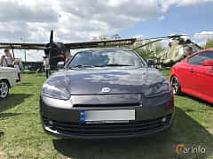 Front  of Hyundai Coupé 2.0 Automatic, 143ps, 2007 at Old Car Land no.1 2018