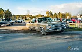 Front/Side  of Imperial Crown Hardtop 7.2 V8 TorqueFlite, 355ps, 1967 at Wheelers Cruising, Vetlanda 2019