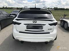 Back of Infiniti FX50 AWD 5.0 V8 AWD Automatic, 396ps, 2011 at Ukrainian Drag Series Stage 1 2017
