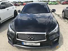 Front of Infiniti Q50 3.7 V6 Automatic, 333ps, 2014 at Ukrainian Drag Series Stage 1 2017