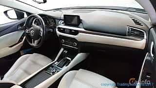 Interior of Mazda 6 Sedan 2.5 SKYACTIV-G Automatic, 192ps, 2015