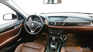 Interior of BMW X1 xDrive20d 2.0 xDrive Steptronic, 184ps, 2015