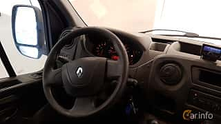 Interior of Renault Master 2.3 dCi Manual, 125ps, 2012
