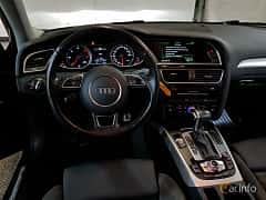 Interior of Audi A4 Avant 2.0 TDI clean diesel quattro  S Tronic, 190ps, 2015
