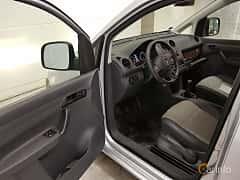 Interior of Volkswagen Caddy Panel Van 1.6 TDI Manual, 102ps, 2013