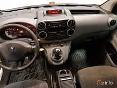 Interior of Peugeot Partner Van 1.6 HDi Manual, 90ps, 2009