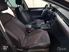Interior of Volkswagen Passat 2.0 TDI SCR BlueMotion DSG Sequential, 190ps, 2016