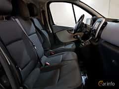 Interior of Renault Trafic Van 1.6 dCi Manual, 115ps, 2015