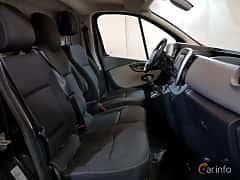 Interior of Renault Trafic Van 1.6 dCi Manual, 120ps, 2016