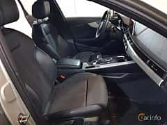 Interior of Audi A4 Avant 2.0 TDI quattro S Tronic, 190ps, 2017